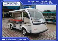 48V / 3KW DC motor Electric Tourist Car with Cargo Box Max . Speed 28km/h for Hotel